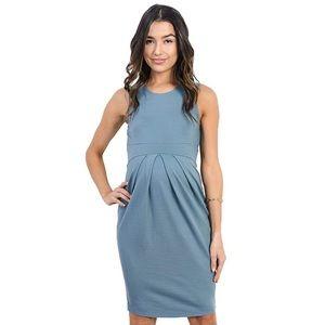 COPY - Blue Maternity Dress